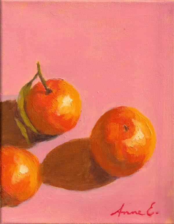 Appelsiinit asetelma